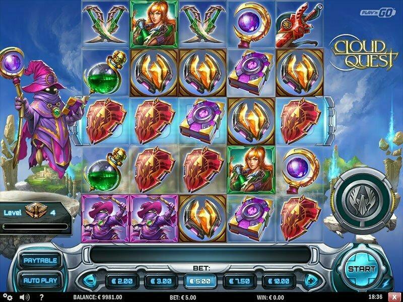 Cloud Quest Slot Play'n GO Review Screenshot