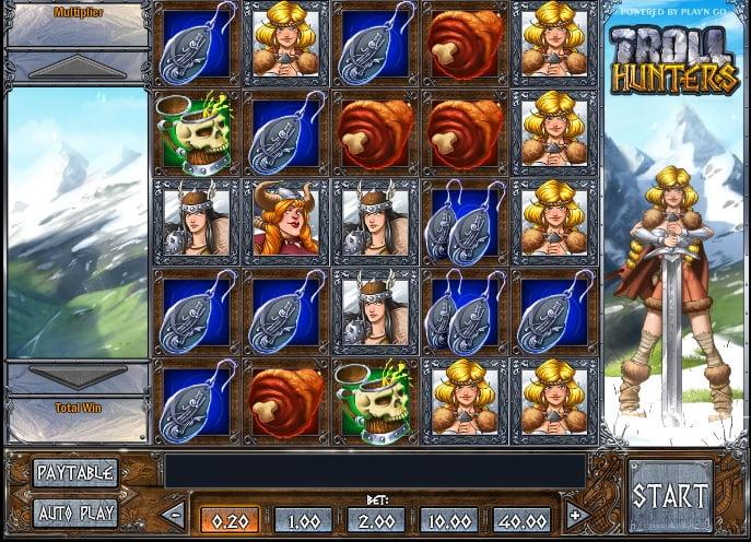 Troll Hunters Slot Play'n GO Review Screenshot