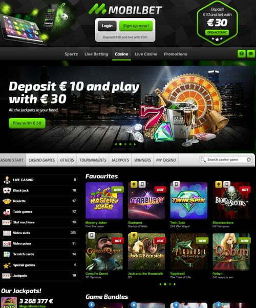 Mobil Bet Casino