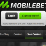 MobileBet Free £10 Bet