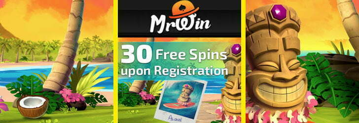 Mr Win Casino 30 Free Spins No Deposit Required