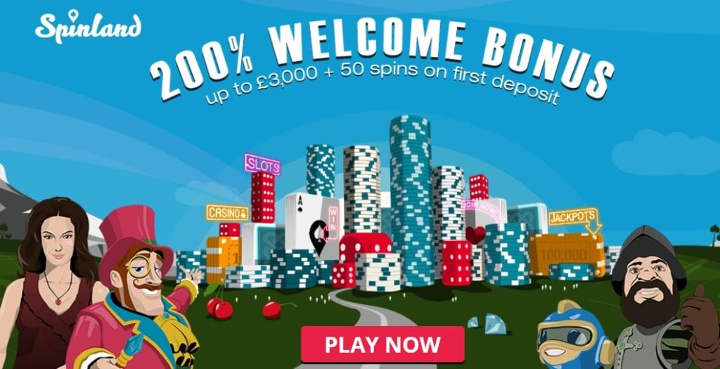 Spinland Casino Bonus New 2017