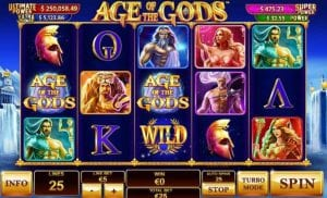 age of gods slot game