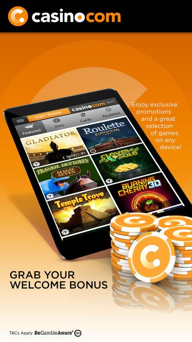 Casino.com Free Welcome Bonus