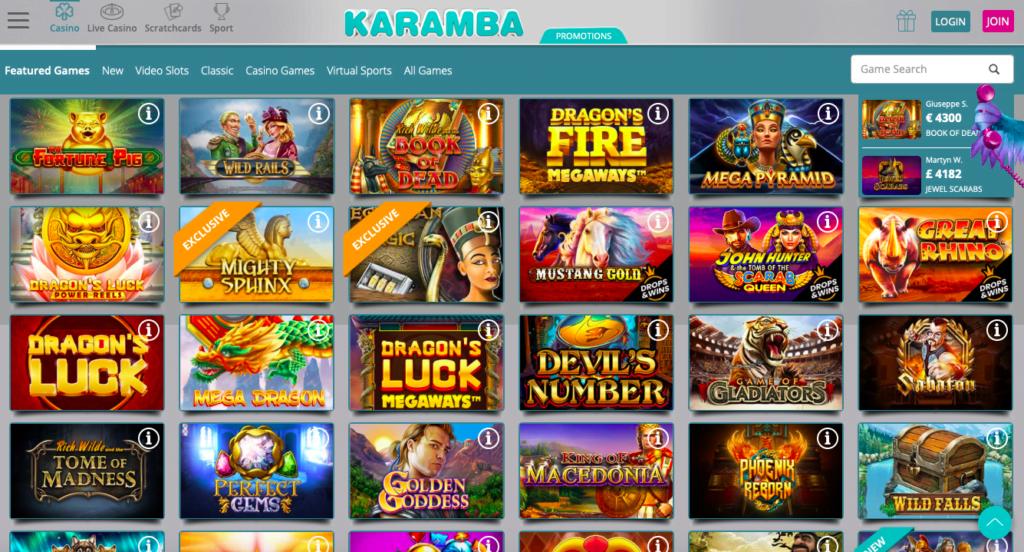 Karamba Casino – Bonus Und Freispiele Obendrauf! - Undersiege Games