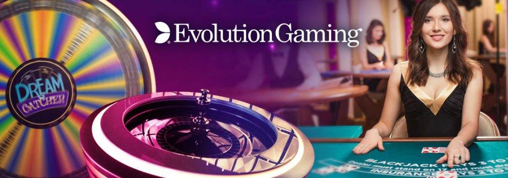 Live Casino games from Evolution