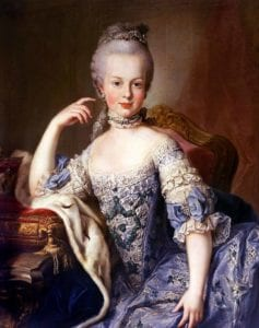 queen marie antoinette historical figures into gambling