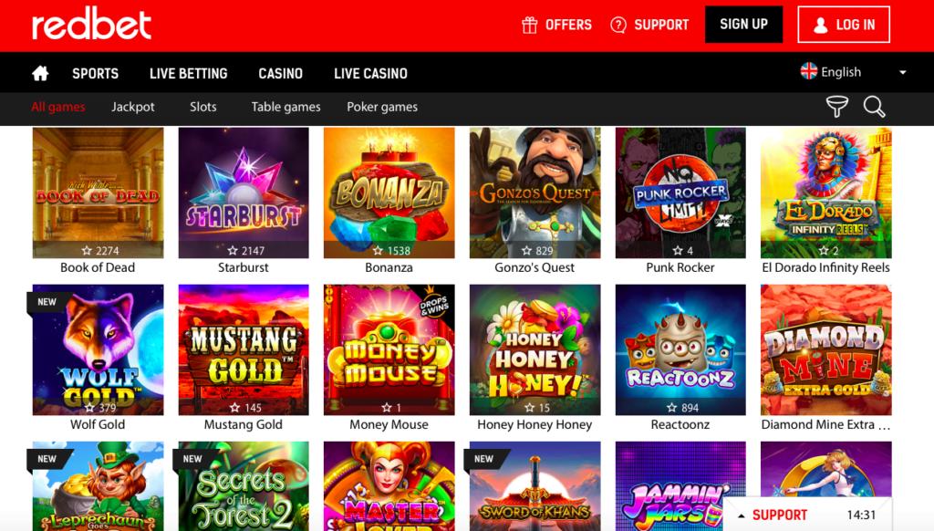 Www Redbet Com Casino