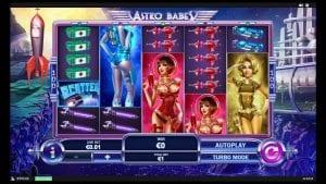 astro babes slot game