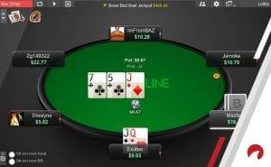 online poker round