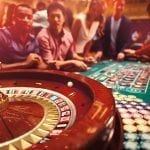 roulette wheel table