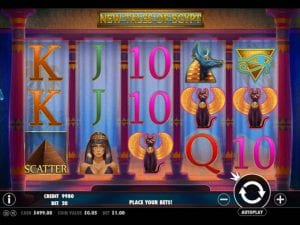 new tales of egypt slot game
