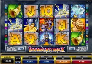 thunderstruck slot game
